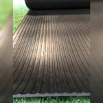 Wide Ribbed Rubber Flooring Rolls (Varies in Sizes) 1.8m wide x 5mm Horse Box flooring